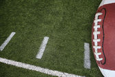 Football field markings — Stock Photo