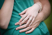 Wedding or Engagement Ring — Stock Photo