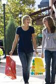Female Shoppers — Stock Photo