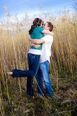 Beso apasionado — Foto de Stock