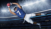 American Football Touchdown Catch — Stock Photo