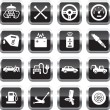Car service icons — Stock Vector #25173361