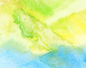 Abstract watercolor sea and sand background — Stock Photo