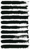 Watercolor paint brush strokes — Stock Photo