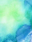 Abstract painted watercolor background — Stock Photo