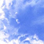 Abstrato aquarela céu, nuvens — Fotografia Stock