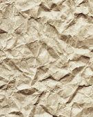 しわくちゃの紙のテクスチャをリサイクル — ストック写真