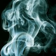 Abstract smoke on black background — Stock Photo #21227313