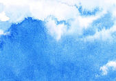 Abstract watercolor sky — Stock Photo
