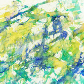 Abstract watercolor, ink brush strokes, splashes background — Stock Photo