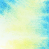 Abstract watercolor background with leaked paint — Stock Photo