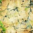 Grunge painted, cracked background - Stock Photo
