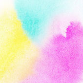 Abstract colorful watercolor painted background — Stock Photo