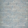 Cinder block wall background, brick texture — Stock Photo #27305127