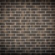 Stock Photo: New dark brick wall background