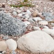 Gravel road stones and sand — Stock Photo #27799469