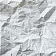Crumpled blank math paper — Stock Photo
