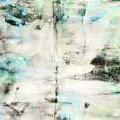Abstract grunge blue and black color background — Stock Photo