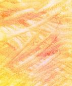 Abstract orange brush strokes background — Stock Photo