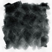 Abstract black grunge watercolor background — Stock Photo