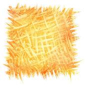 Abstrakt orange brush strokes bakgrund — Stockfoto