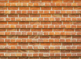 Orange brick wall texture or background — ストック写真