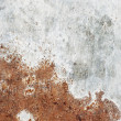 Old,dirty, rusty metal plate — Stock Photo