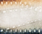Grunge colorful film strip background — Stock Photo