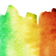 Abstract colorful watercolor background — Stock Photo