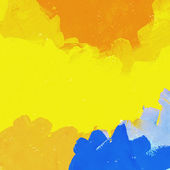 Abstract painted colorful watercolor background — Stock Photo