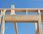 New construction of house, framework. — ストック写真