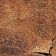 Old,dirty, rusty metal plate — Stock Photo #48388237