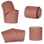 Set of sandpaper for your woodwork — Stock Photo