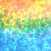 Colorful blurred party stars background — Stock Photo