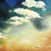 Céu e nuvens após o pôr do sol. — Foto Stock