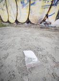 Drogas cocaína en paquete — Foto de Stock