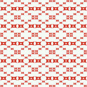 Seamless pattern with squares, stars shapes. — Stock Vector