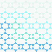 Seamless pattern with David stars. — Stock Vector