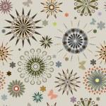 Symmetrical flowers — Stock Vector #22487751
