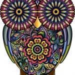 Funny owl — Stock Vector #25019829