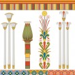 Stock Vector: Egyptian culture