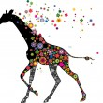 Giraffe running — Stock Vector #33746765