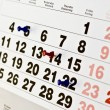 Calendar appointment — Stock Photo