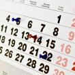 Stock Photo: Calendar appointment