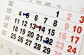Událost kalendáře — Stock fotografie