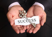 Secret key for success in business — Stock Photo