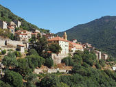 Typical corsican village, France — Stock Photo