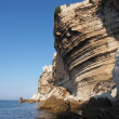 Stock Photo: Bonifacio cliff, Corsica, France
