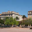Stock Photo: Ajaccio august 2012, city center.