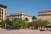 Ajaccio august 2012, city center. — Stock Photo